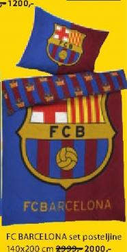 FC Barcelona set posteljine