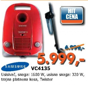 Usisivač VC4135