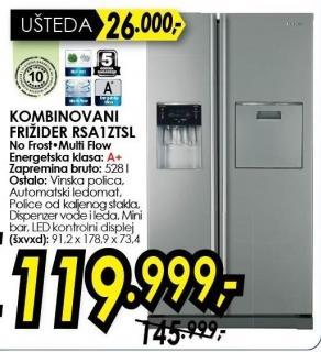 Kombinovani frižider RSA1ZTSL