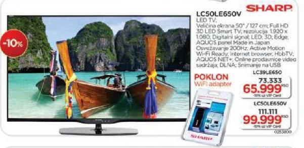 """Televizor LED 39"""" LC39LE650V"""