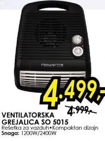 Grejalica Ventilatorska So 5015