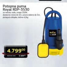 Potopna pumpa za nečistu vodu RDP 3530
