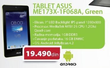 "Tablet 7""  MemoPad ME173X-1F068A"