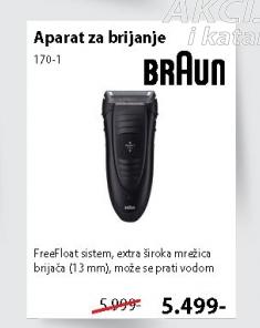 Aparat za brijanje 170-1