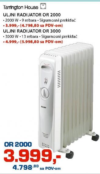 Uljani radijator OR 2000