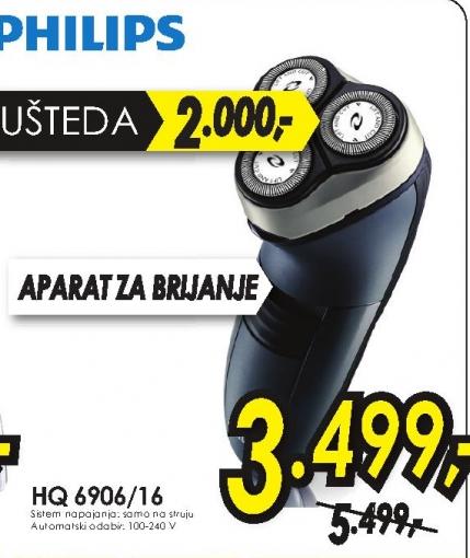 Električni Brijač Hq6900/16