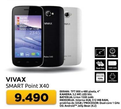 Mobilni telefon Smart Point x40