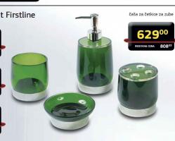 Držač za sapun, kupatilski set Firstline