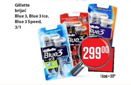 Brijač Blue3 Speed