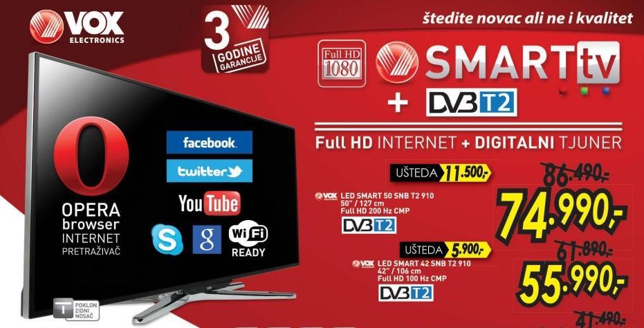 """Televizor LED 42"""" 42 Snb T2 910"""