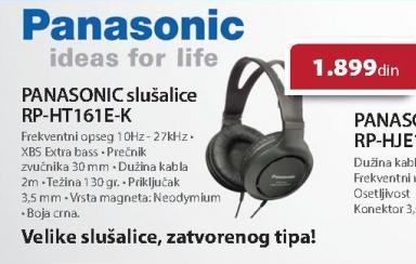 Slušalice RP-HT161E-K