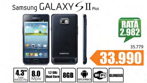 Mobilni Telefon GALAXY S II PLUS