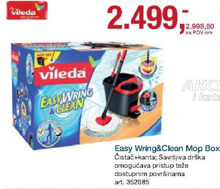 akcija vileda easy wring and clean mop box 347982 akcije i katalozi. Black Bedroom Furniture Sets. Home Design Ideas