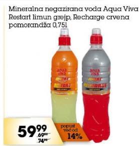 Mineralna voda Recharge