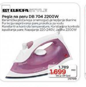 Pegla Europa Style DB 704