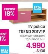 TV polica Trend 2D1V1P