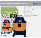 Usisivač električni Villager 1250W-20l