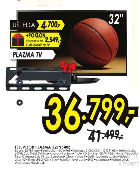 Plazma televizor 32LN540B + poklon nosač