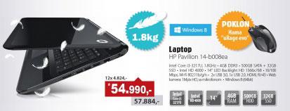 "Laptop Pavilion 14-b008ea 14"" Core i3-3217U"