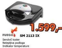 Sendvič toster SM 2113 IX