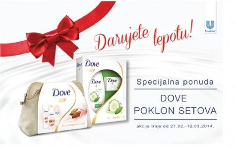 Specijalna ponuda Dove Poklon setova