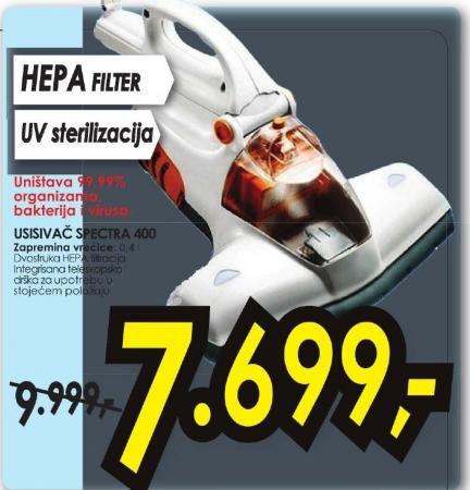 Usisivač SPECTRA 400