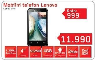 Mobili telefon A369i Crni