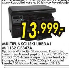 Laserski štampač M 1132 CE847A