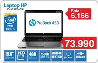 Laptop ProBook 450 H6r47ea