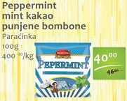 Bombone pepermint i kakao