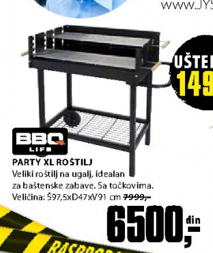 Roštilj Party XL