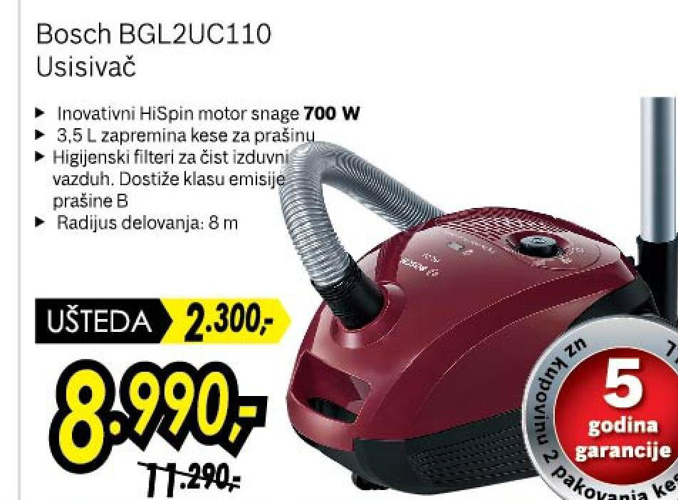 Usisivač BGL 2UC110