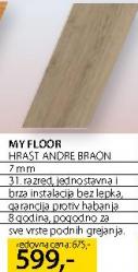 Laminat Hrast Andre Braon, My Floor