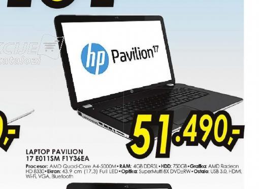 Laptop pavilion 17 E011SM