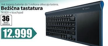 Bežična tastatura Tk820