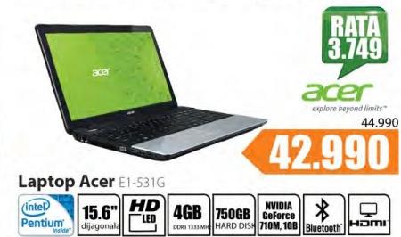 Laptop E1-531G