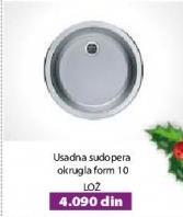 Sudopera usadna okrugla Form 10 Lož