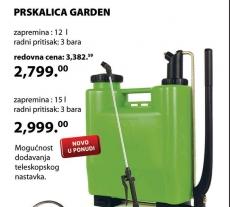 PRSKALICA GARDEN 15L