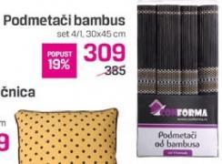 Podmetači bambus