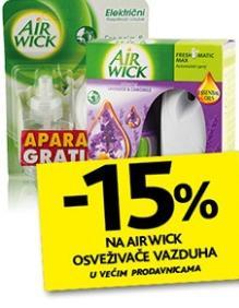 Na Airwick osveživače vazduha