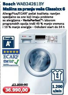 Mašina za pranje veša Wab24261by