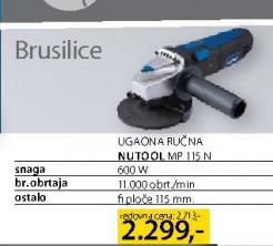 Ugaona Ručna Brusilica Nutool MP 115 N