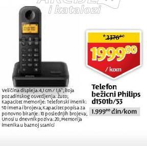 Telefon d1501b/53