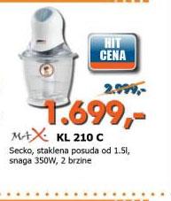 Seckalica KL 210 C