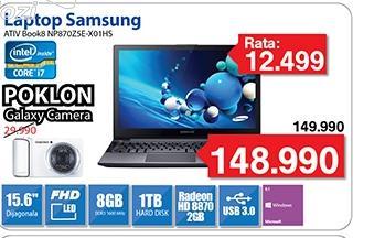 Laptop ATIV Book8 NP870Z5E-X01HS