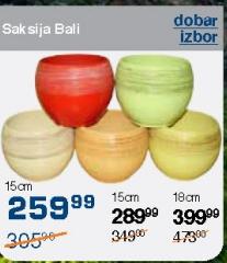 Saksija Bali 15cm