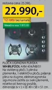 Ploča ugradna plinska AKM 404/NB/01