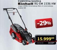 Električna Kosilica RG-EM 1536 HW