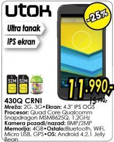 Mobilni telefon 430q Crni