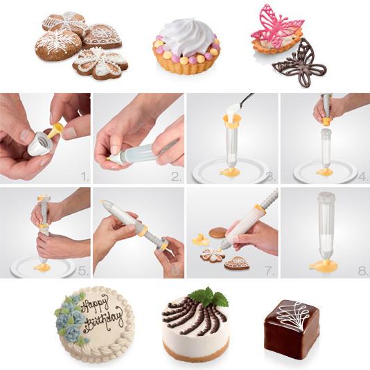 Delicia Olovka - Špric za kolače i torte